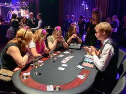 Poker tafel huren